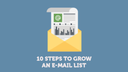 10 Steps to Grow an E-mail List | KIAI Agency
