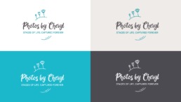 Business card templates for Photos by Cheryl. Designed by KIAI Agency