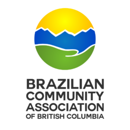 Logo design for the Brazilian Community Association of British Columbia. Design by KIAI Agency in Burnaby BC